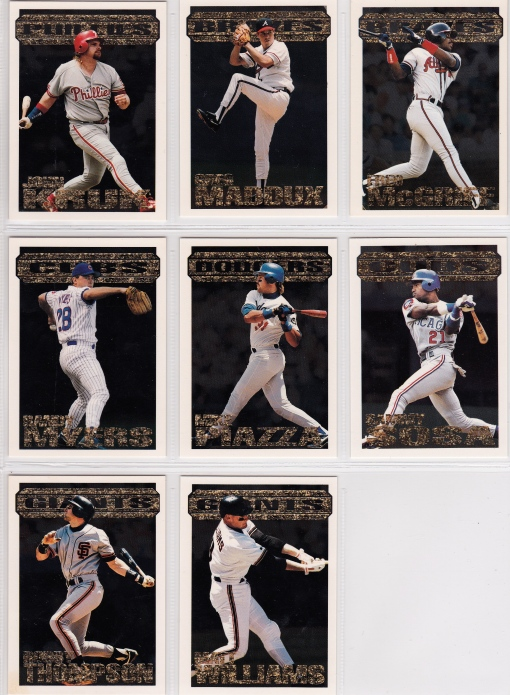 1994 Topps Black Gold set_0004