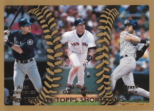 1999 Topps All-Topps Jeter A-Rod Nomar