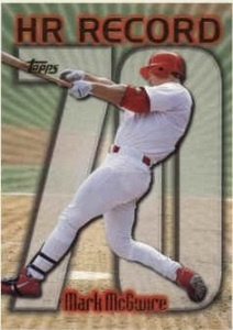 1999 Topps McGwire HR 70