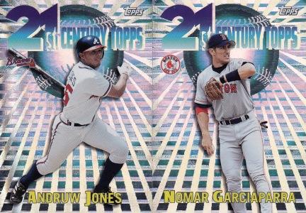 2000 Topps 21st Century inserts s1 box