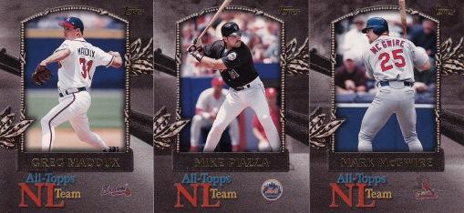 2000 Topps All Topps Team NL inserts s1 box