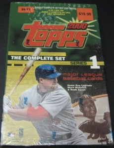 2000 Topps factory series 1