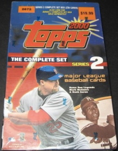 2000 Topps factory series 2
