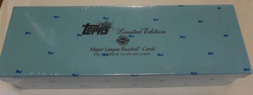 2000 Topps Factory set Limited Edition
