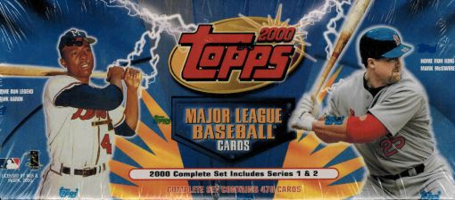 2000 Topps Factory set Retail