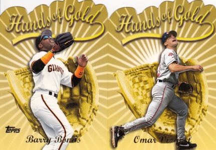 2000 Topps Hands of Gold inserts s1 box