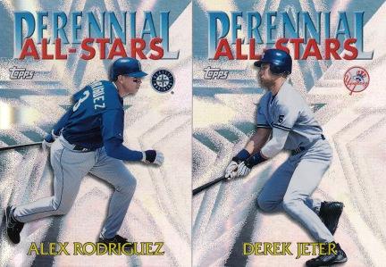 2000 Topps Perennial All Stars inserts s1 box