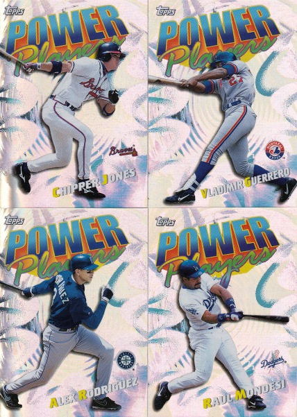 2000 Topps Power Players inserts s1 box