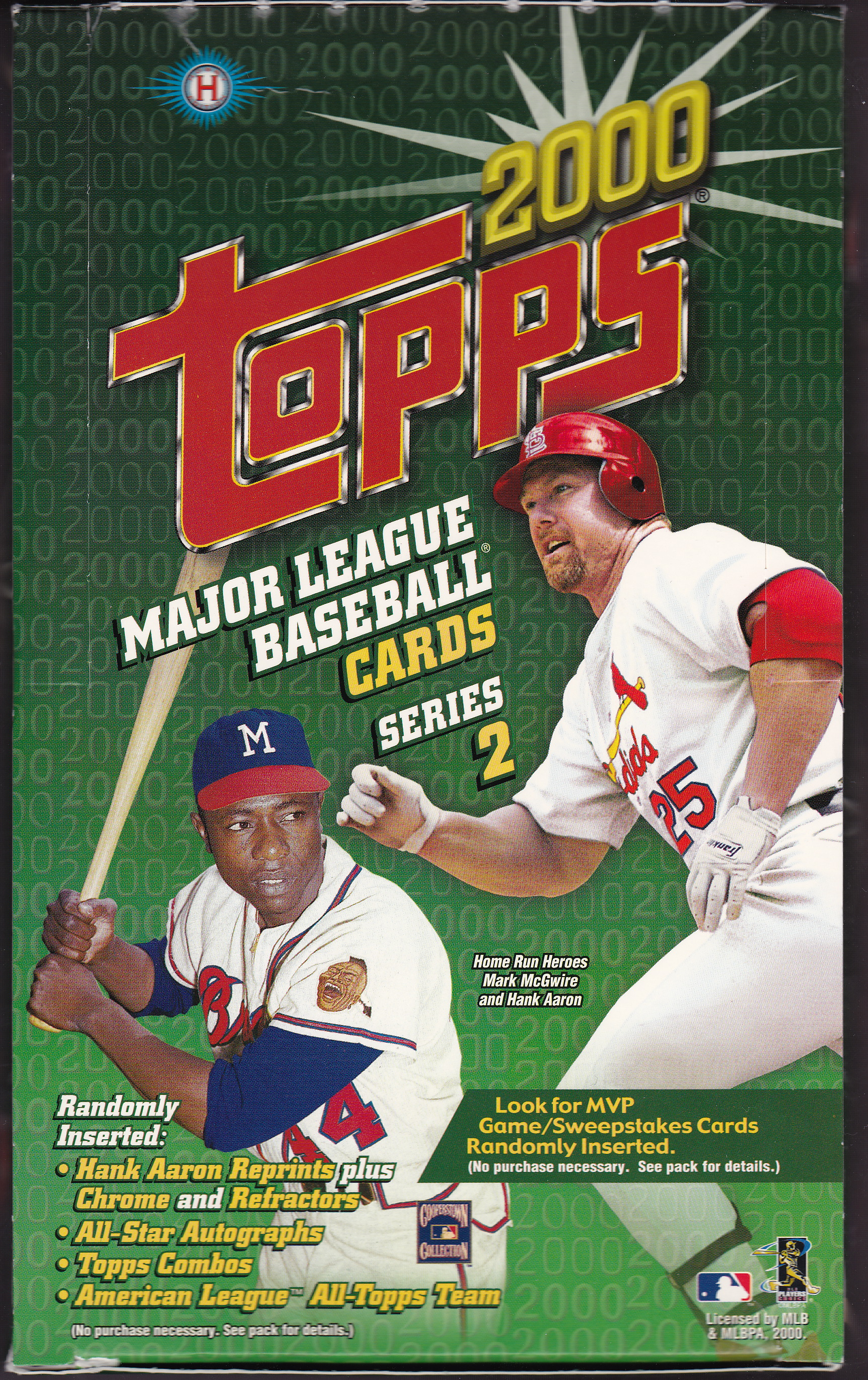 2000 Topps Overview Lifetime Topps Project
