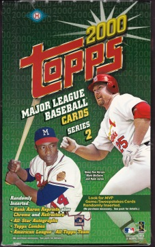 2000 Topps s2 hobby box