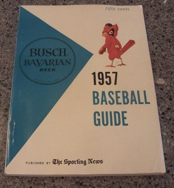 Busch 1957 baseball guide