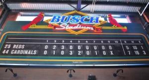 Busch Stadium old scoreboard