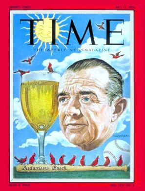 Time Magazine 1955 Busch