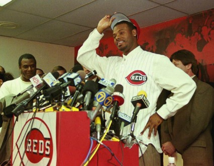 2000 Griffey Reds Press Conference