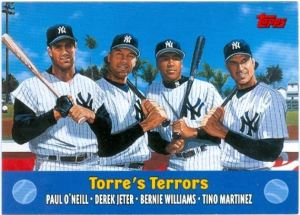 2000 Topps Combos Torre Terros