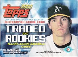 2000 Topps Traded box