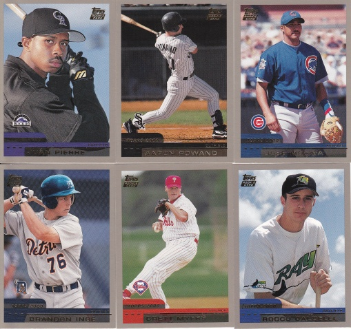 2000 Topps Traded other rookies