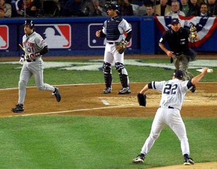 2000 WS Clemens Piazza bat throw