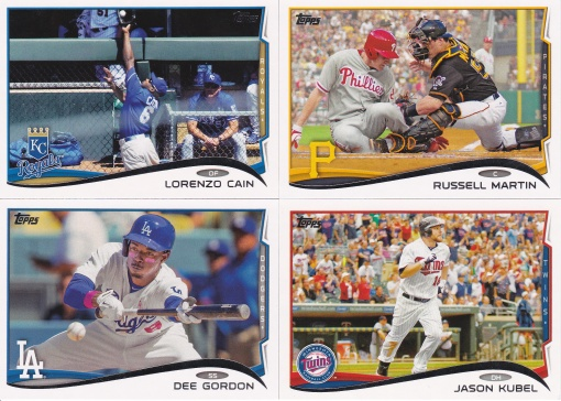 2014 Topps s2 action shots