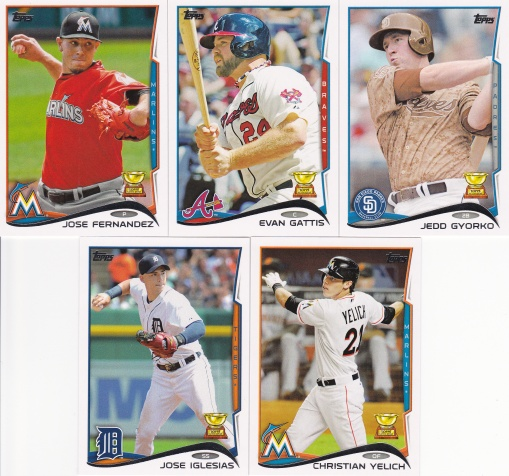 2014 Topps s2 AS Rookie Team