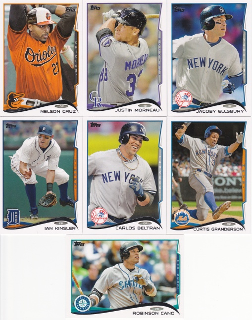 2014 Topps s2 free agents