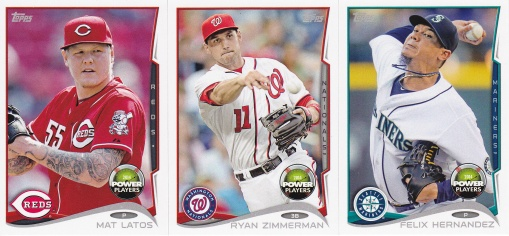 2014 Topps s2 Power Players