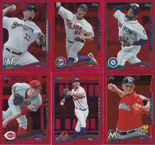 2014 Topps s2 Red Hot Foil