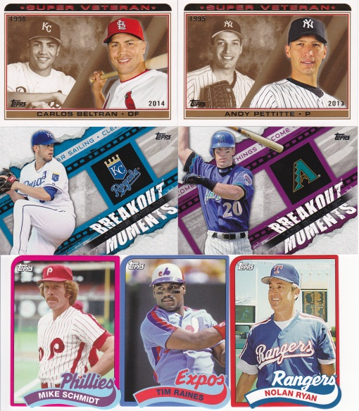 Chicago Card show purchase Nov 2014 Topps inserts