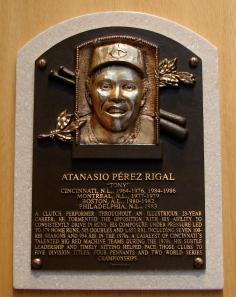 Tony Perez HOF plaque