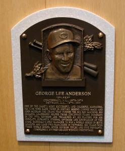 Sparky Anderson HOF plaque