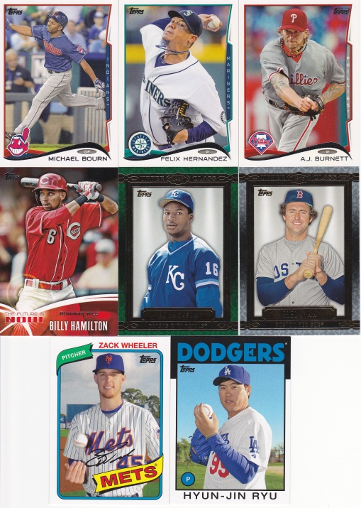 Trade with reader Matt - Topps & Archives
