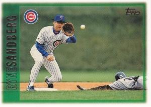 1997 Topps 167 Ryne Sandberg 2nd best card
