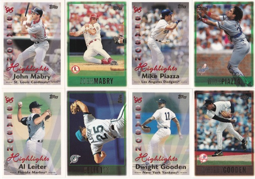 1997 Topps 2 cards in set