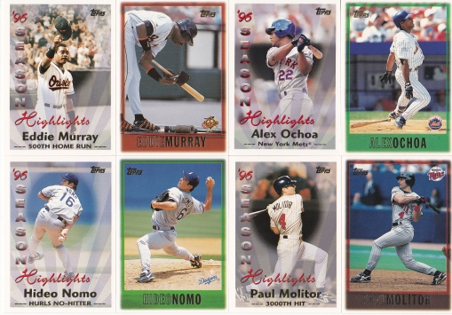 1997 Topps 2 cards in set_0001