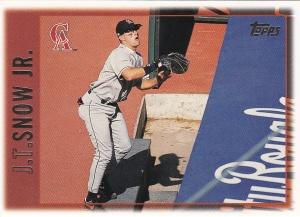 1997 Topps 263 JT Snow best card