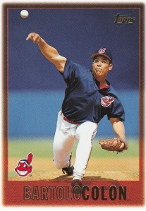 1997 Topps 386 Bartolo Colon last active player