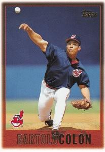 1997 Topps 386 Bartolo Colon last active player