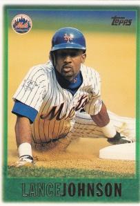 1997 Topps final card - Lance Johnson 261