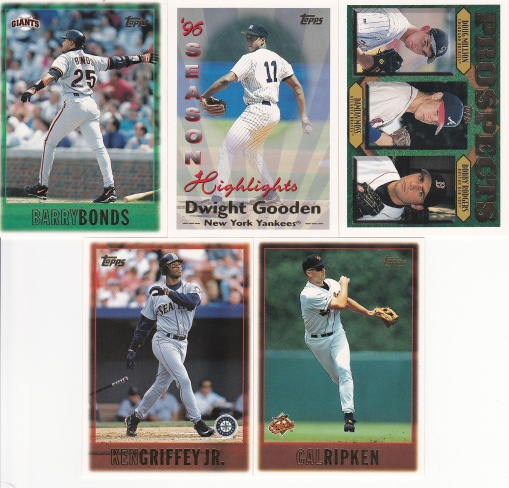 1997 Topps first cards and the 00s