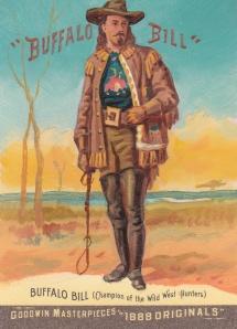 2012 Goodwin Masterpieces Buffalo Bill