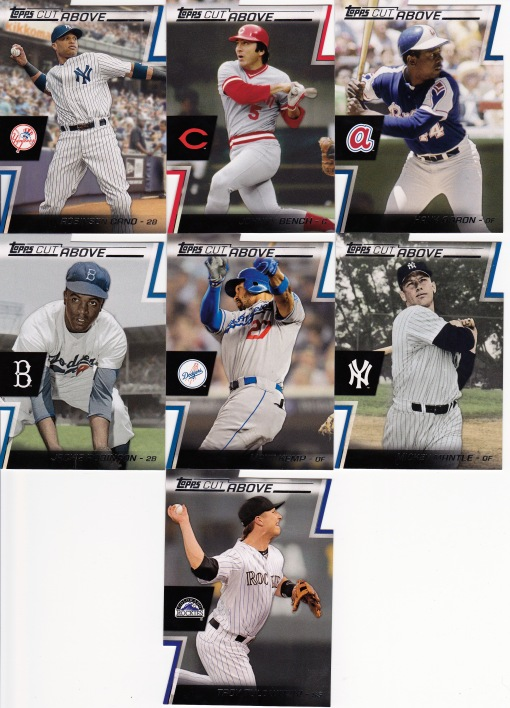 2012 Topps A Cut Above set_0002