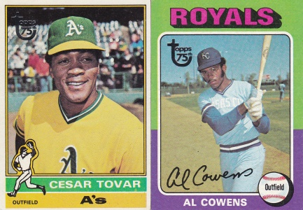 2014 Topps s2 75th buybacks Tovar Cowens