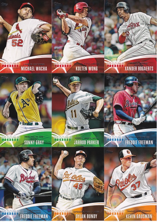 2014 Topps s2 Future is Now