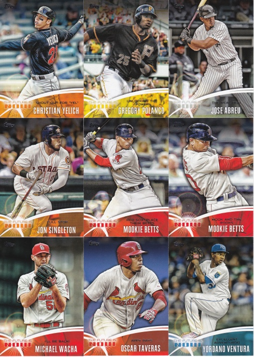 2014 Topps Update Future is Now