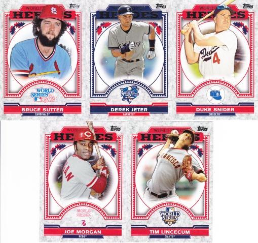 2014 Topps Update World Series Heroes