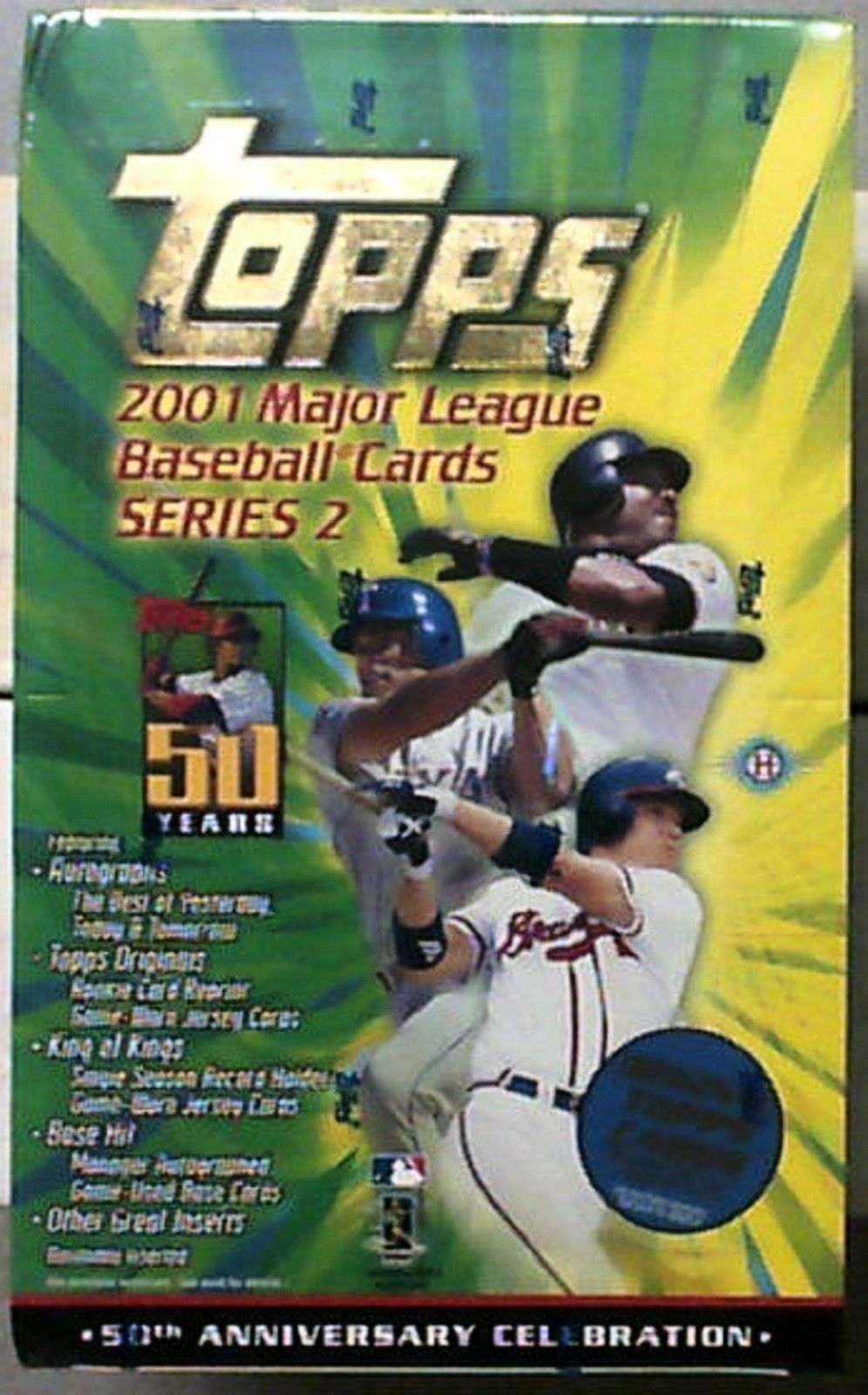 2001 Topps Overview Lifetime Topps Project