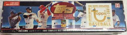 2001 Topps employee factory set