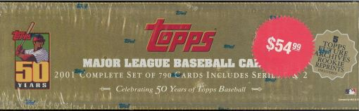 2001 Topps factory set retail