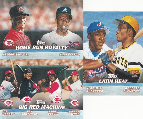 2001 Topps s1 Combos