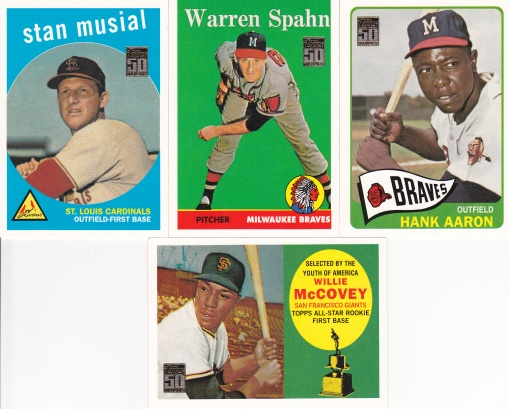 2001 Topps s1 Through the Years